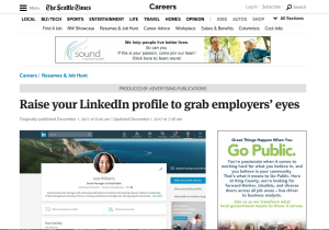 Raise Your LinkedIn Profile To Grab Employers Eyes