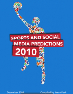 Sports and Social Media Predictions 2010